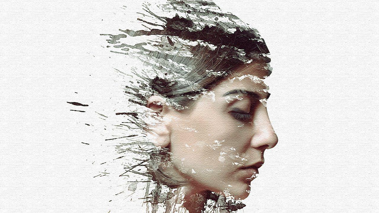 Photoshop Cc Tutorial Creative Paint Splash Effect Photoshop