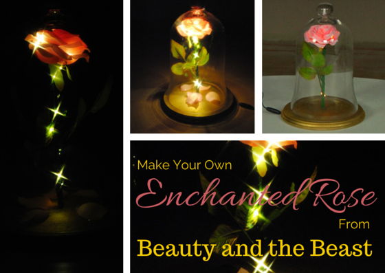 Mar 18 Diy Enchanted Rose From Beauty And The Beast 1000bulbs Blog