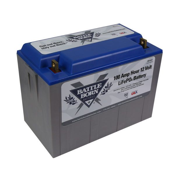Battle Born 100ah 12 Volt Lifepo4 Drop In Replacement Deep Cycle Battery Deep Cycle Battery Battle Battery