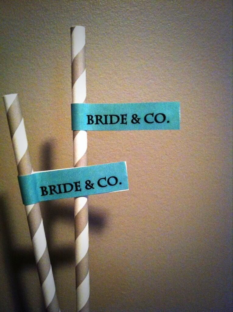 50's Style Soda Pop Straws  Bride & Co. Flags in Tiffany Blue  I found this on Etsy: Bride & Co. Soda Pop Straws with Flags $17.15 CAD http://etsy.me/12gRHUD