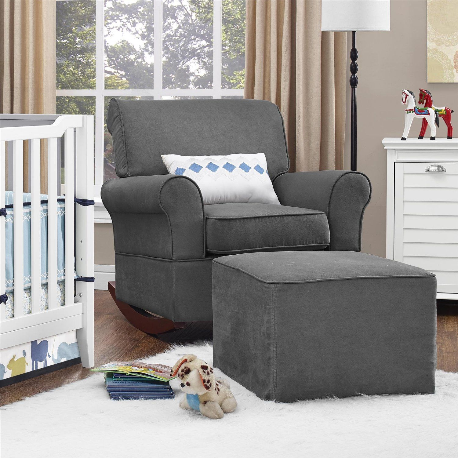 Nursery rocker, Rocker chair nursery, Dorel living