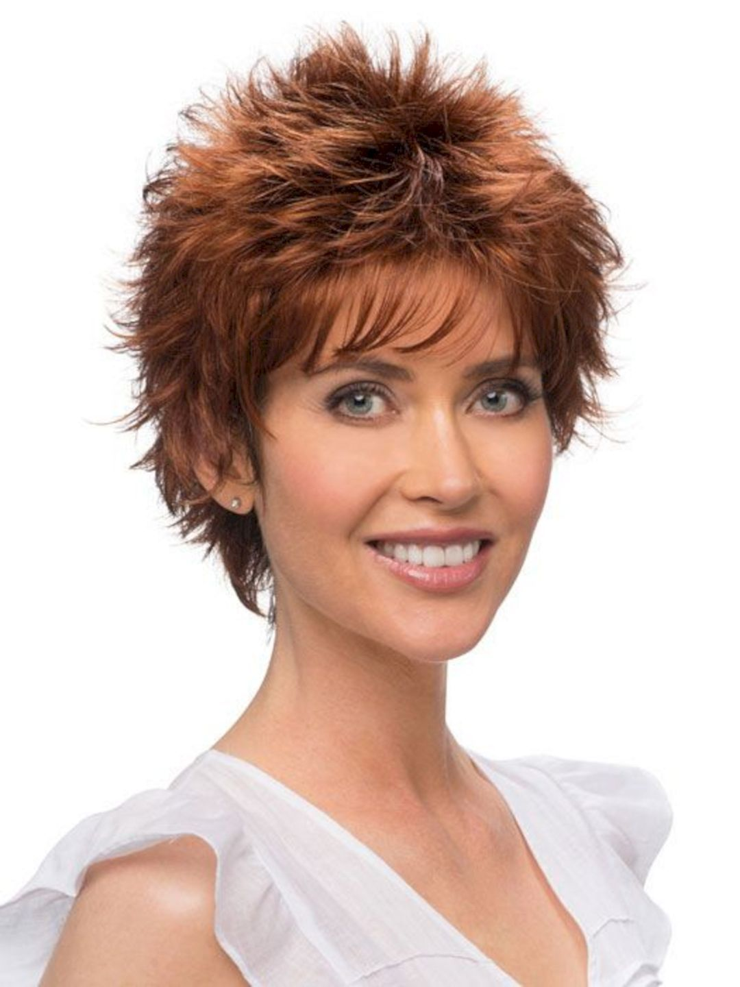 beautiful short hairstyle for chic women short hairstyle