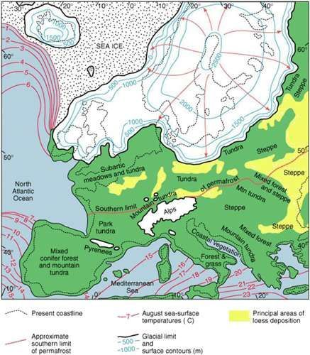 4b6669c24ebb3293b27cee8f9857b991g 437500 maps pinterest landscape types in europe during last glacial maximum gumiabroncs Choice Image