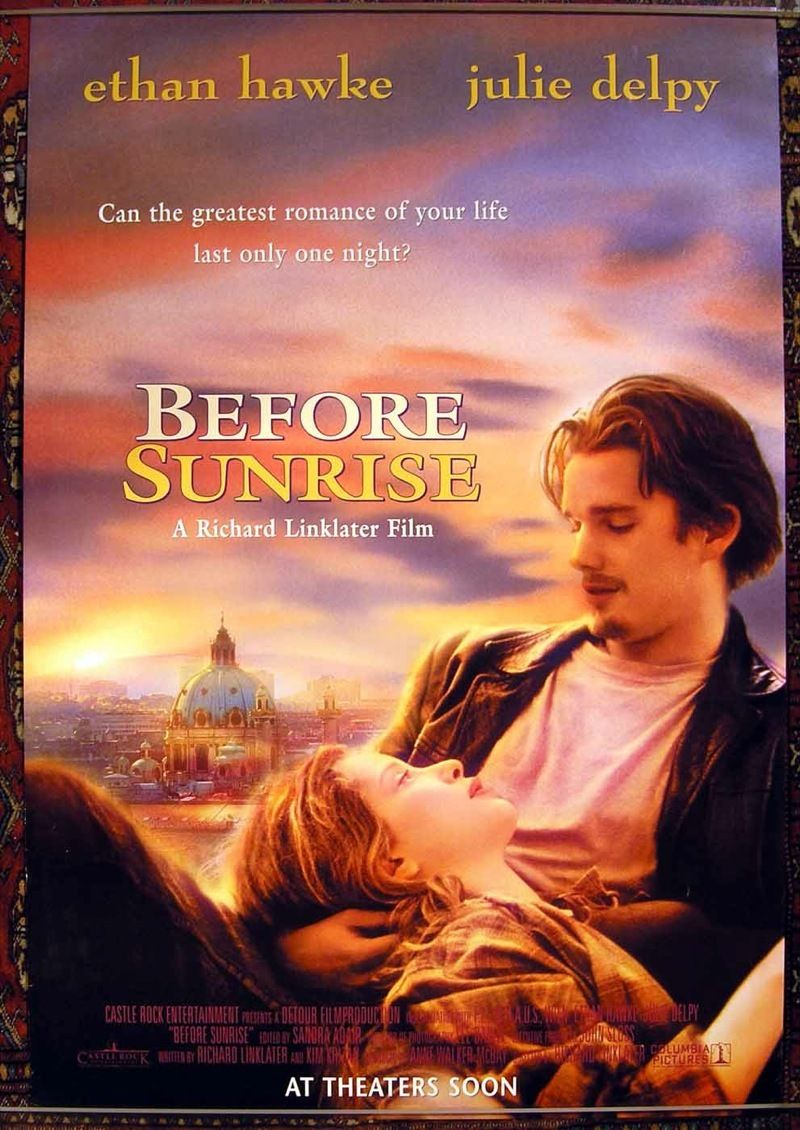 Before Sunrise 1995 16138 Filmes Romanticos Filmes Indie E