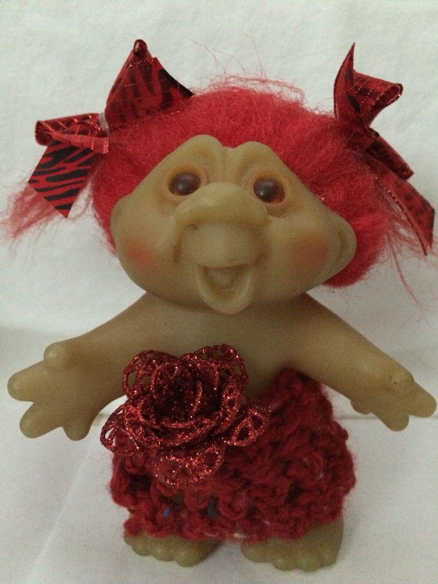 valentine dam troll blingthings etsy com pinterest