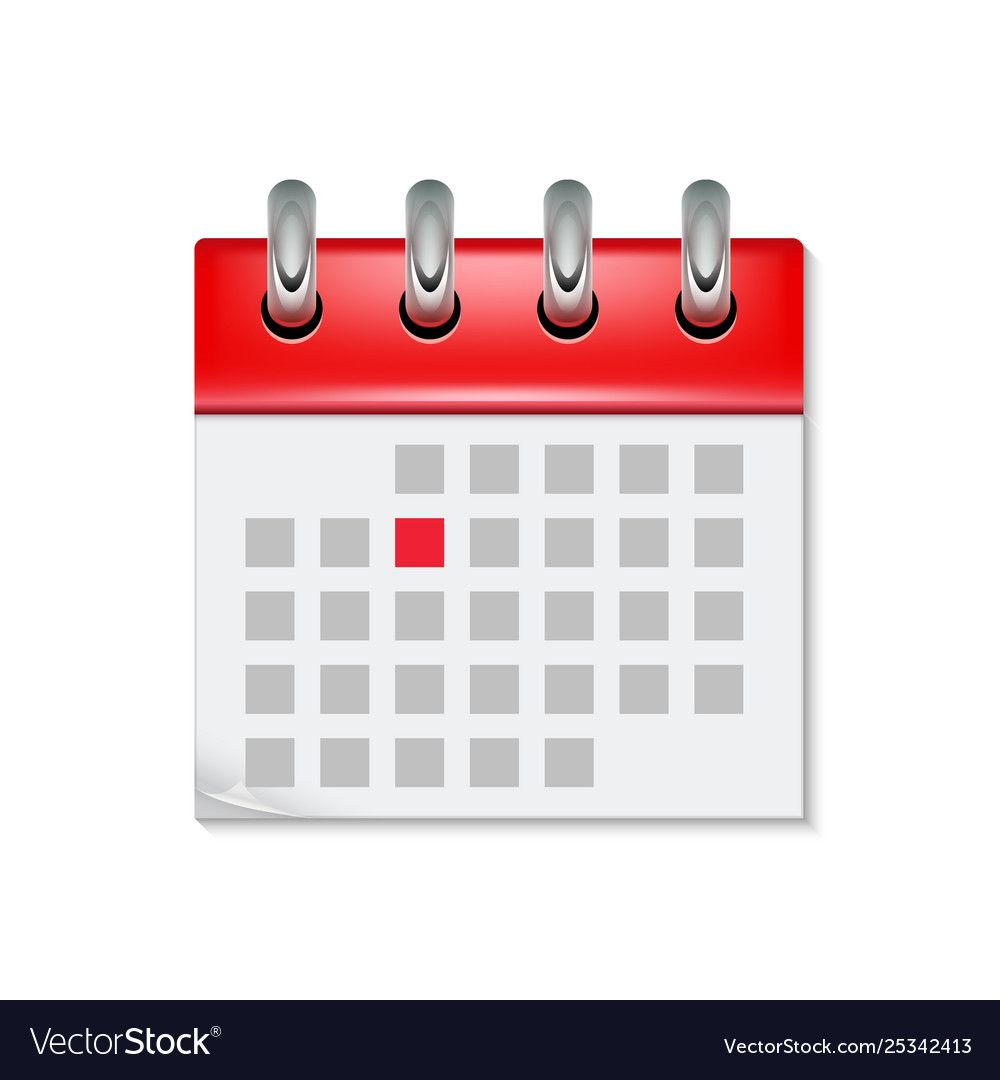 Calendar Icon With Month Time Symbol Flat Agenda Day Reminder Event Calendar Design Button Download A Free Preview Or Hi Calendar Icon Image Icon Vector Free
