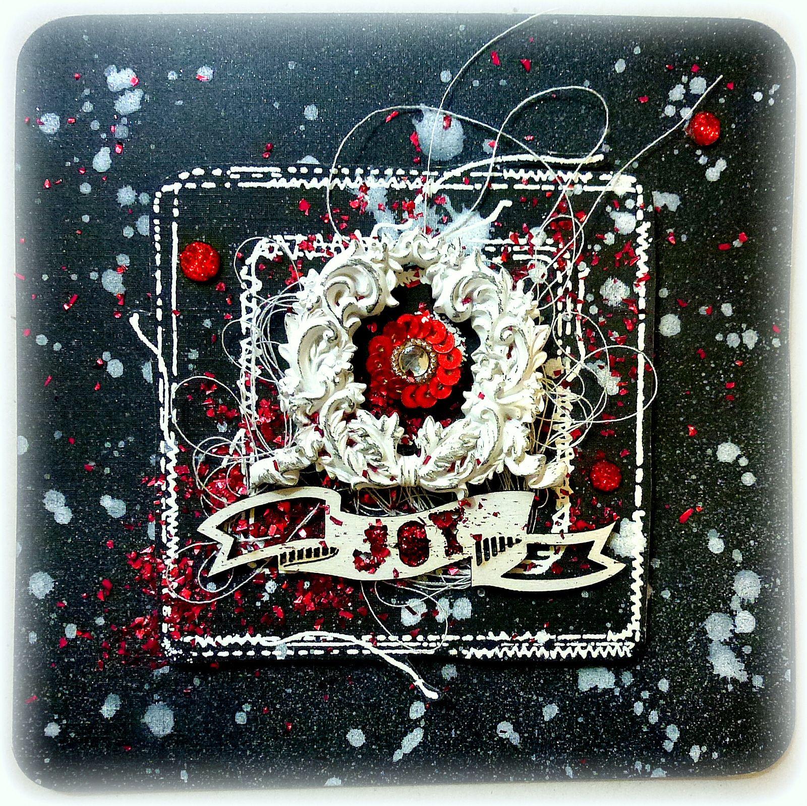 Prima DT - 12 Days of Christmas Cards - Scrapbook.com
