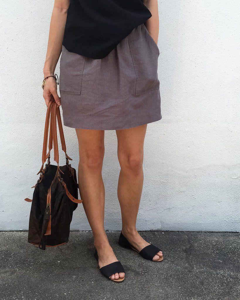 Basics . Pocket Skirt . womens | Nähideen und Nähen