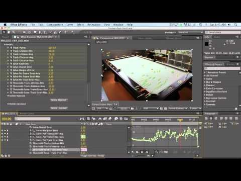 Ae Camera Tracker C4d 3dcameratracker Foundry With Images