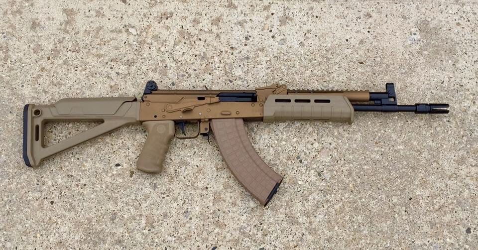 I just finished this Russian Saiga AK today  Specs include 14 5