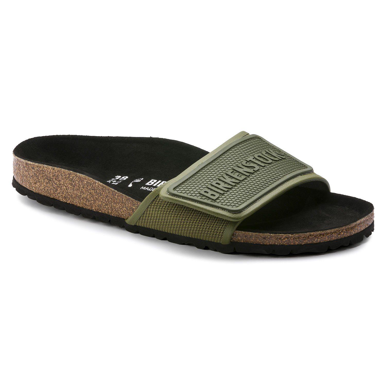 diseño atemporal f260b 964b6 Tema Micro Fibre Green | shop online at BIRKENSTOCK | Shoes ...