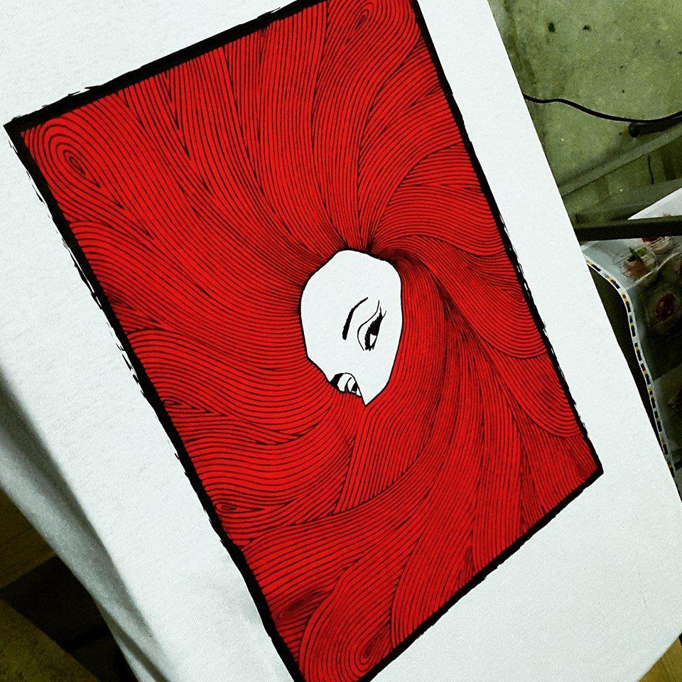 #RedHair #tshirt #tees #silkscreened #screenprinted