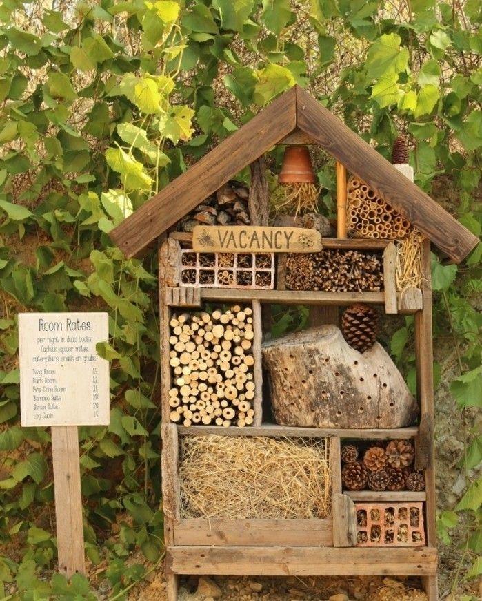 insektenhotel selber bauen 69 ideen und bauanleitungen insektenhotel. Black Bedroom Furniture Sets. Home Design Ideas