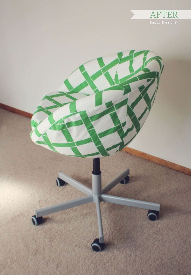 My Studio Ikea Chair Revamp Ikea Chair Chair Ikea