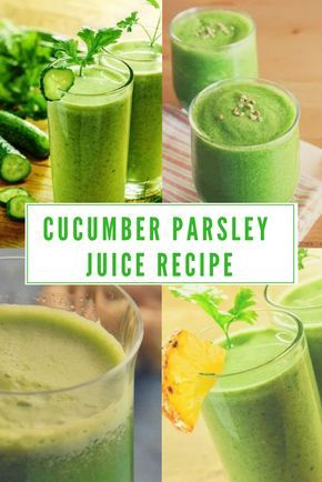One of the best green juice recipes, Cucumber Parsley Juice. Just visit to check more recipes http://homekitchenary.com/10-common-juicing-mistakes-you-should-avoid/