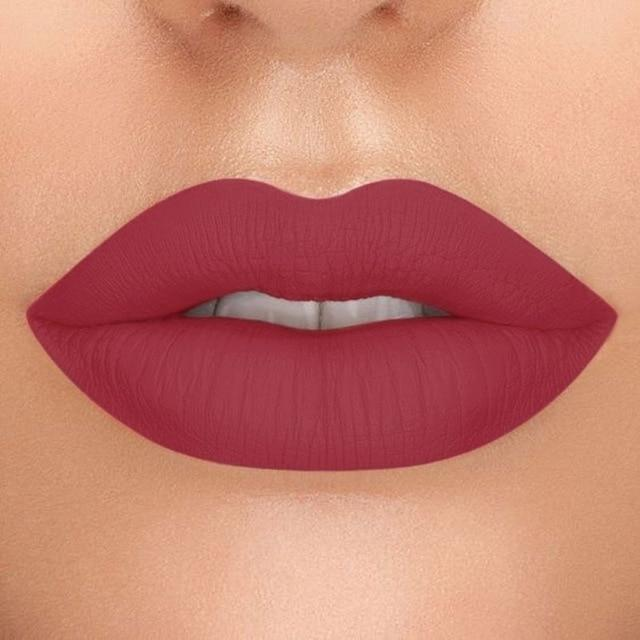FOCALLURE New Matte Liquid Lipstick High Pigment Lip Tint Sexy Red Easy to Wear 2019 Rich Hot Color Lips makeup Liquid Lipstick