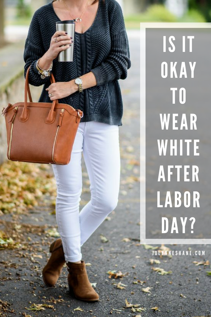 When is ok to wear white?