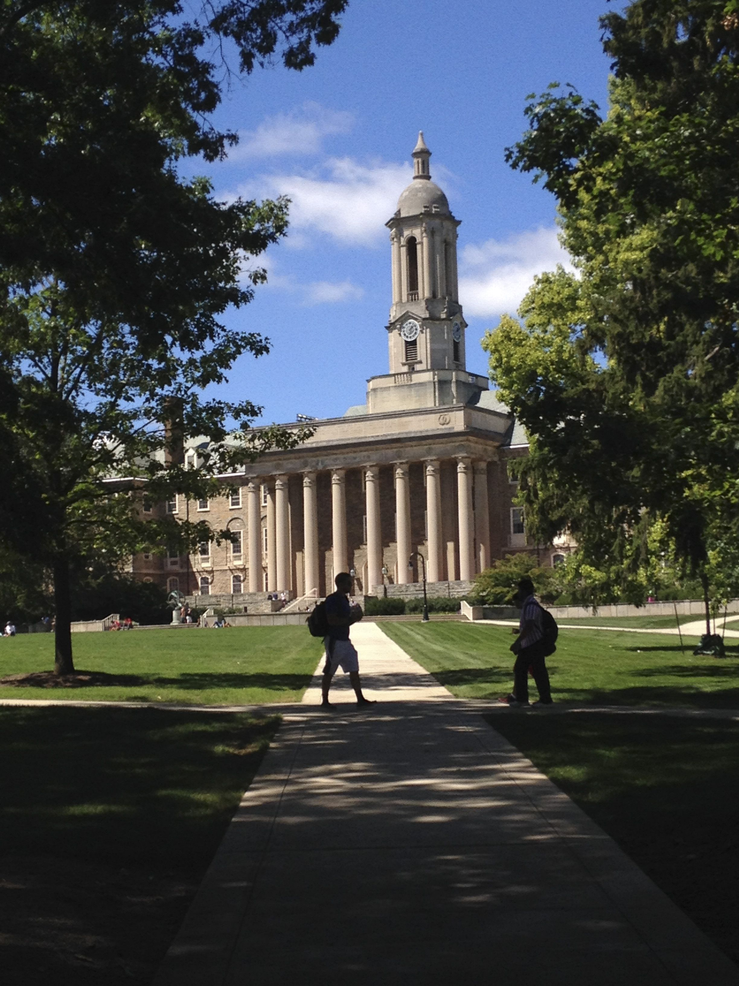 Penn State Campus 8 28 14 Old Main Was Stunning Today Penn