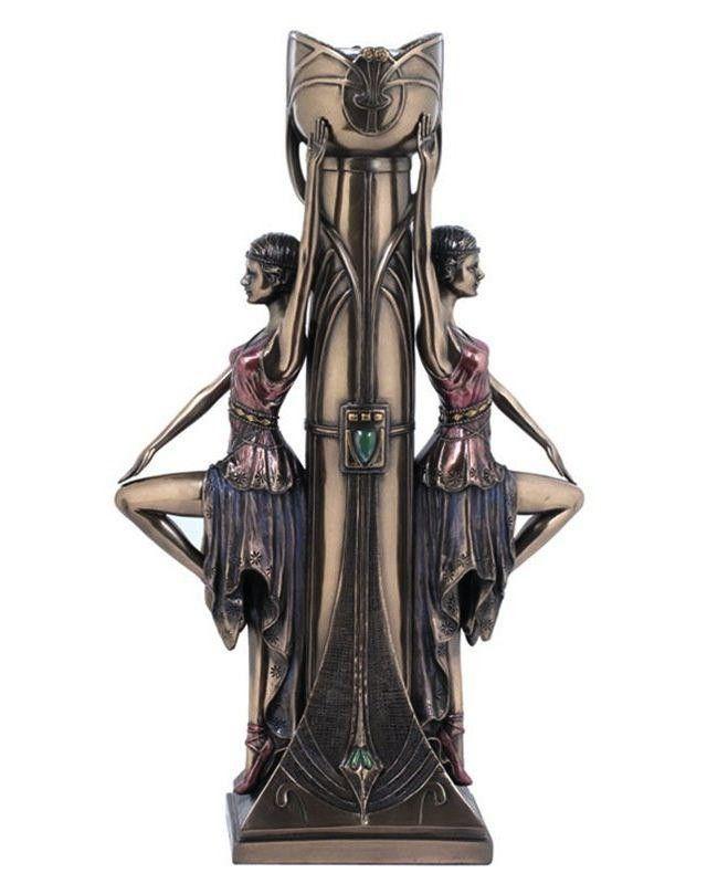 Unicorn Studio Veronese Design Art Nouveau Art Deco Statue Art Deco Art Nouveau