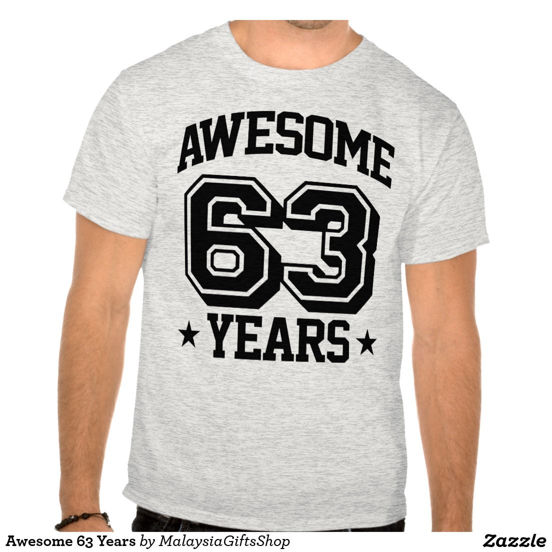 Awesome 63 Years T Shirt