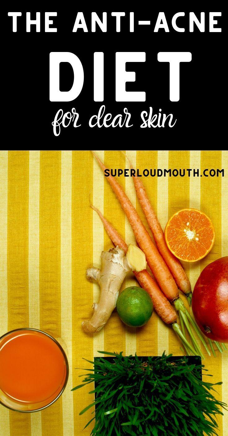 Die Anti-Akne-Diät für klare Haut