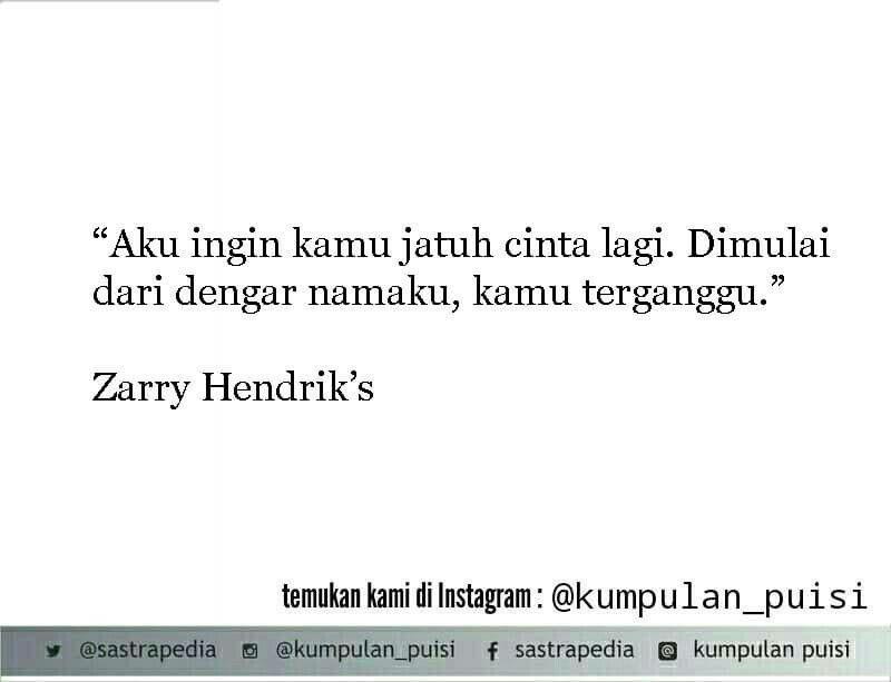 Puisi Pendek Kumpulan Puisi Zarry Hendrik Puisi Motivasi Sajak