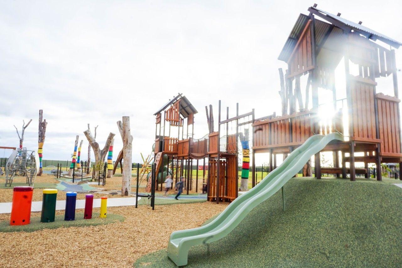 Safari Park Werribee PEET Cornerstone Playground TOT