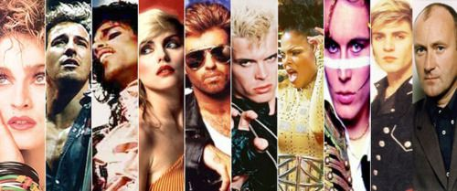 80's stars ♥ in 2019 | Music | 80s music, Music collage, 80s songs