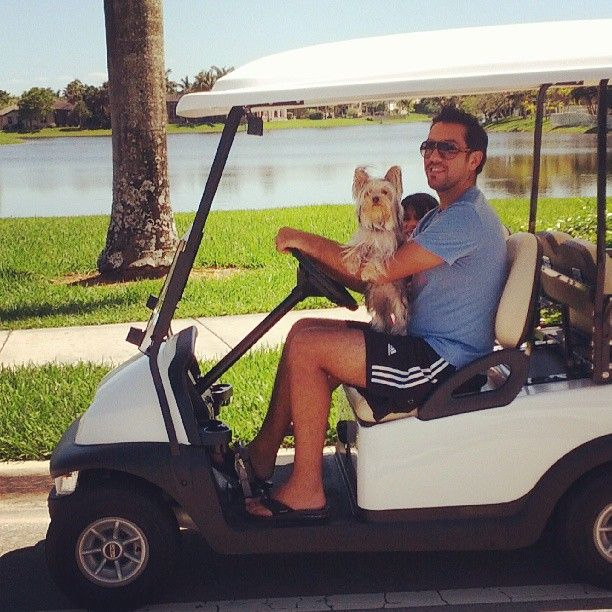 Golf carts are also fun to have at the lake