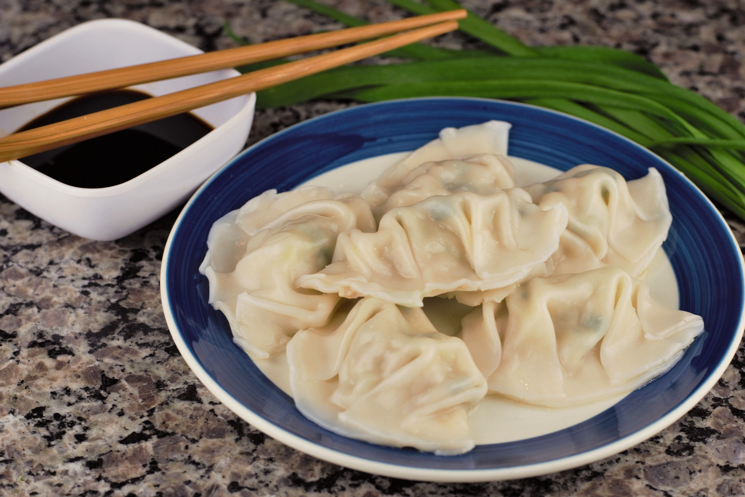 Meat cooked in soft noodles? Check. Getting to eat an appetizer as a meal? Check. Dippable? Oh yes.