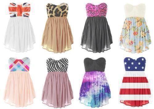 Dresses I want them!!!!!