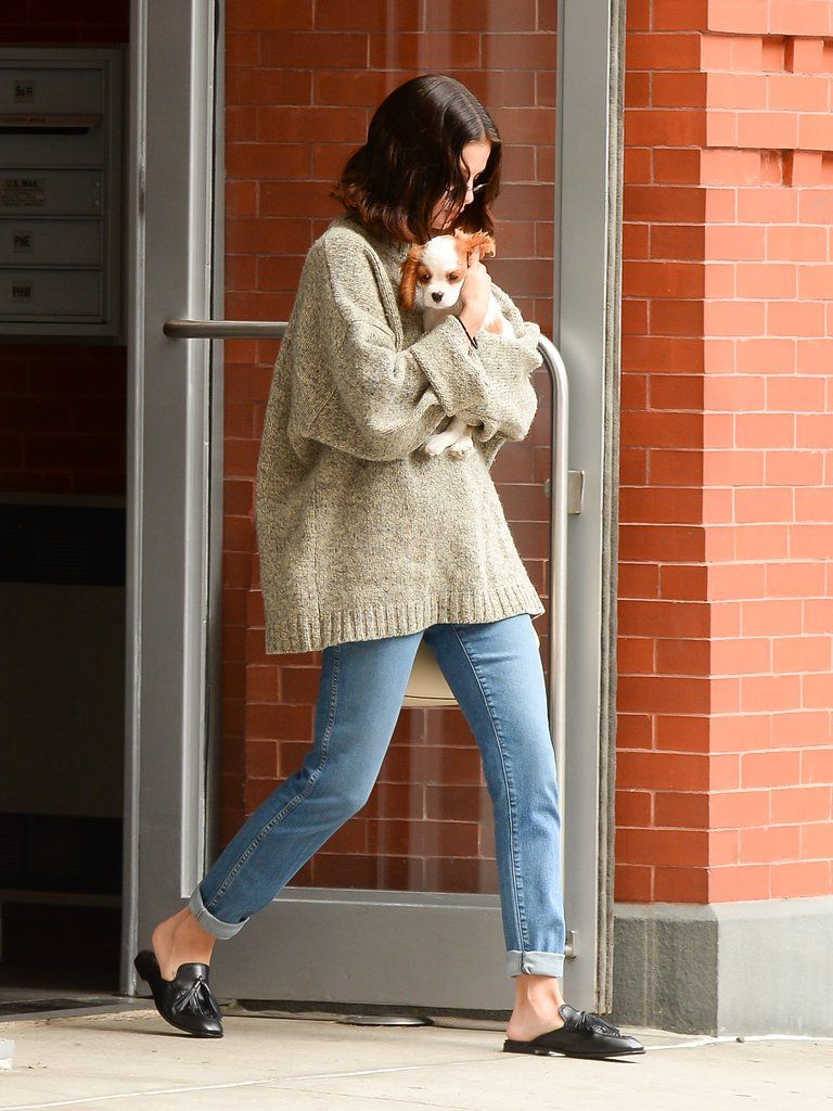 613c7d865da Selena Gomez Was Carrying the Cutest Puppy