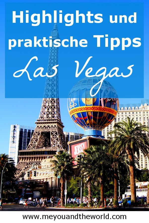 Las Vegas Guide – Das musst du wissen! | Weltreise Blog meyouandtheworld