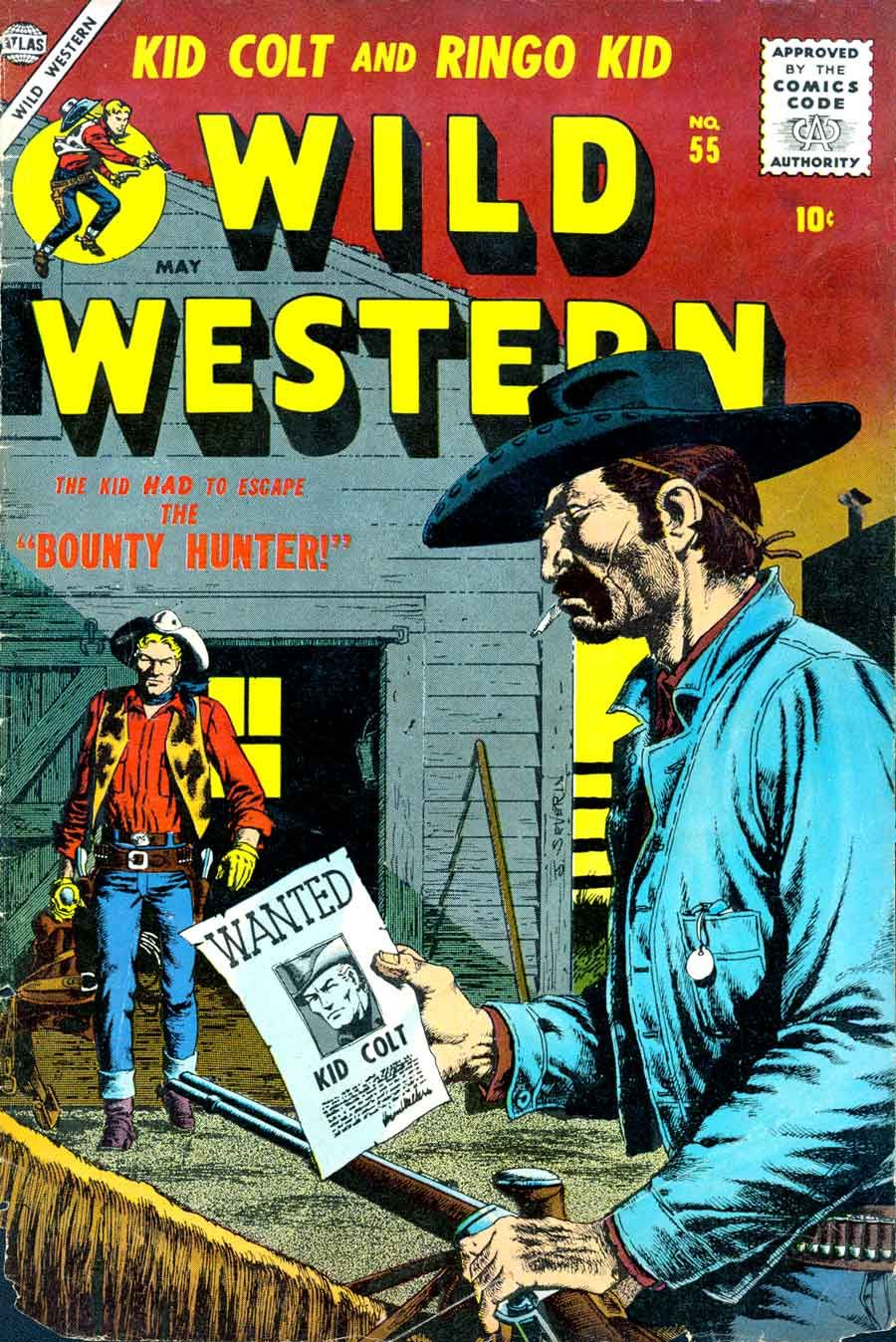 Image result for 1950's western comics