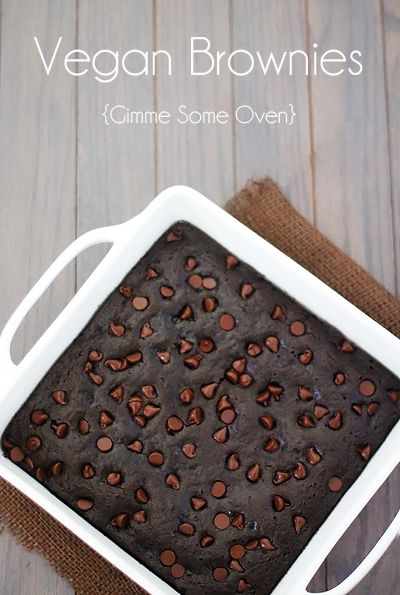 Made with simple everyday ingredients, this vegan brownies recipe will easily be a crowd favorite -- for vegans AND non-vegans alike!!!