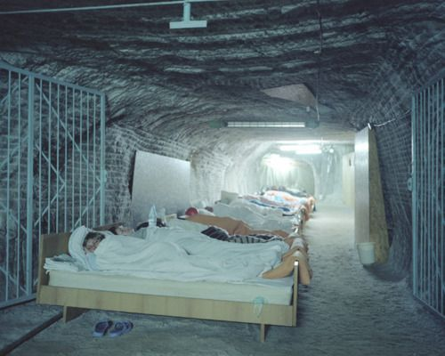 An Underground Facility In A Salt Mine In Ukraine Used For Asthma Therapy The Therapy Which Takes Place At Solotvyno Is Based On Salt Ukraine Underground