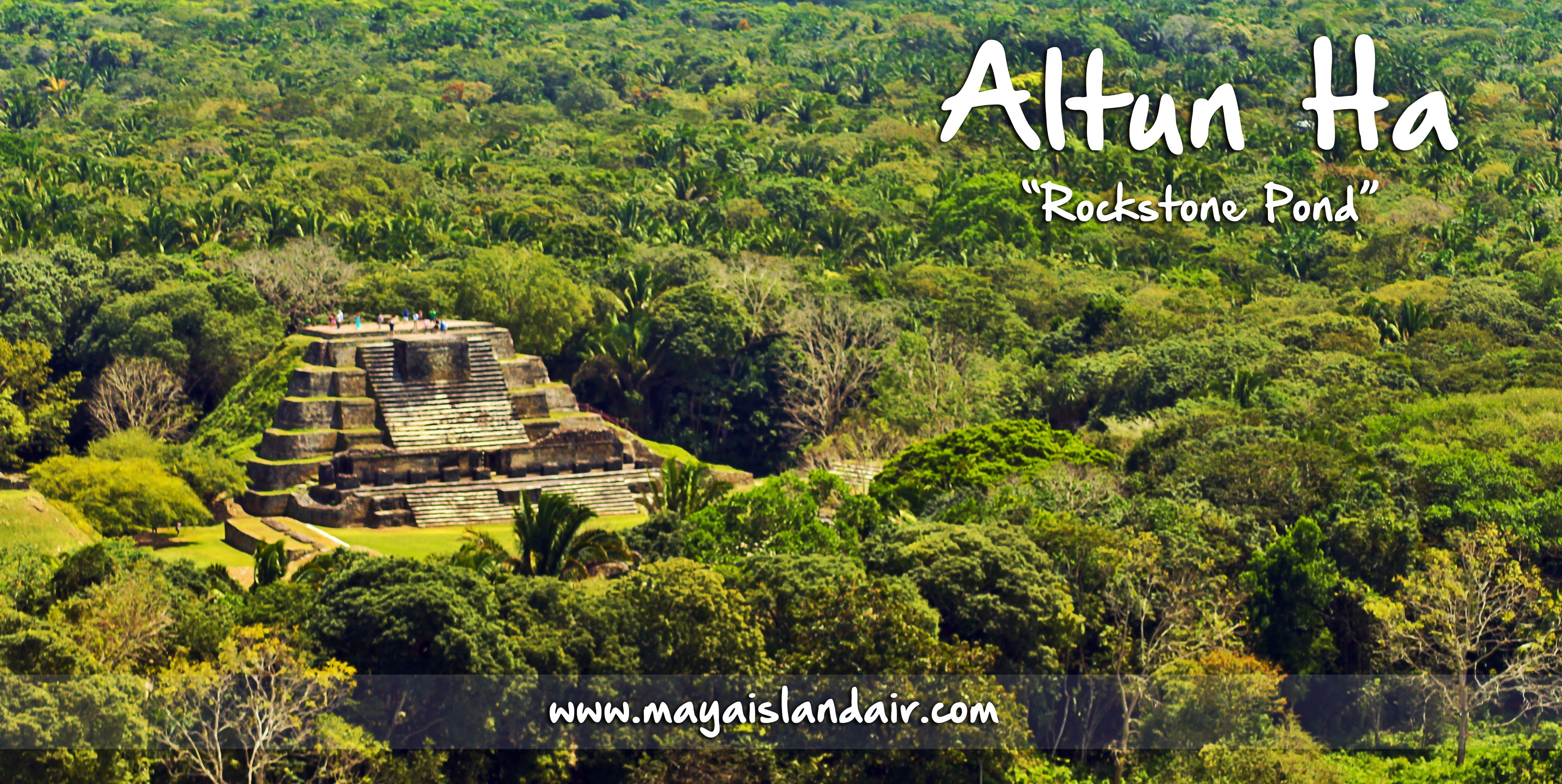 Have you ever seen the mayanruin of altun ha in belize