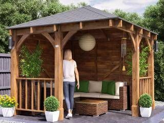 Dunster House - Log Cabin and Garden Building Specialists