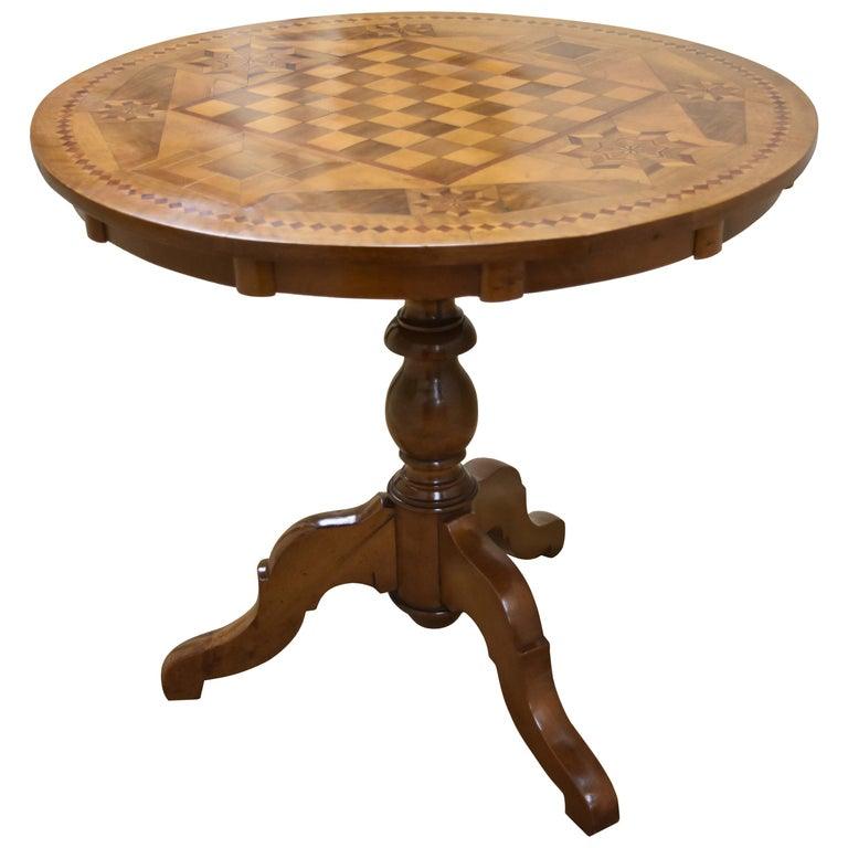 1stdibs Walnut French Game Table Cp4100 In 2019 Table Games