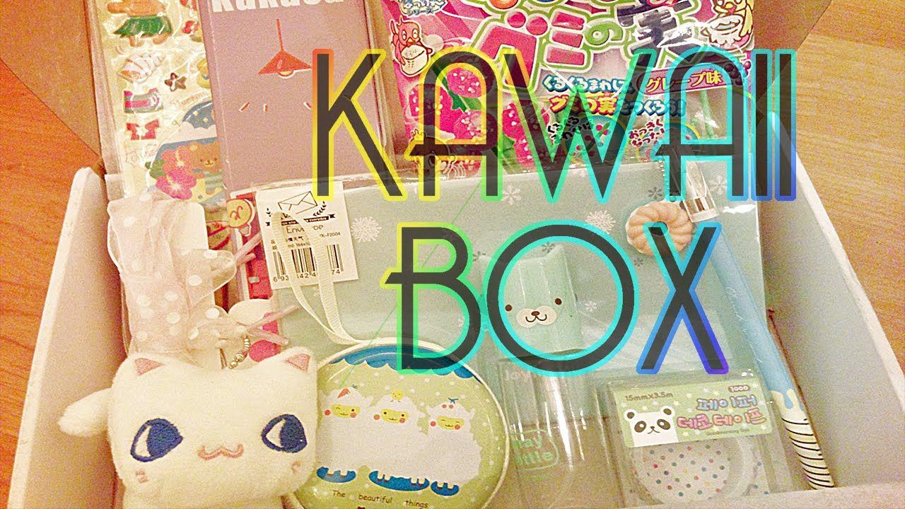 Kawaii Box Unboxing + GIVEAWAY