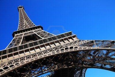 Realisme. De Eiffeltoren in Parijs, 1889. Gebouwd voor de wereldtentoonstelling in Parijs.