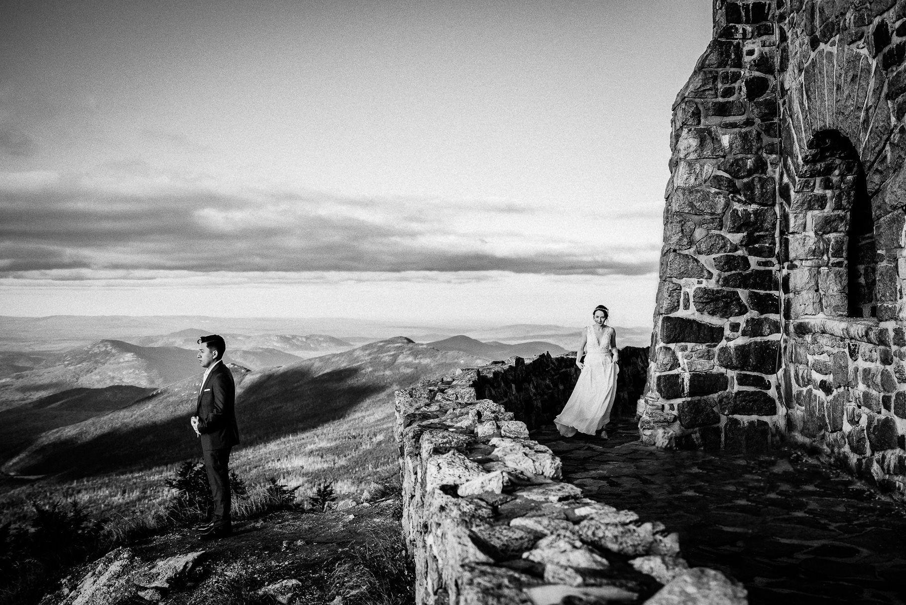 Whiteface Mountain Sunset Wedding Whiteface mountain