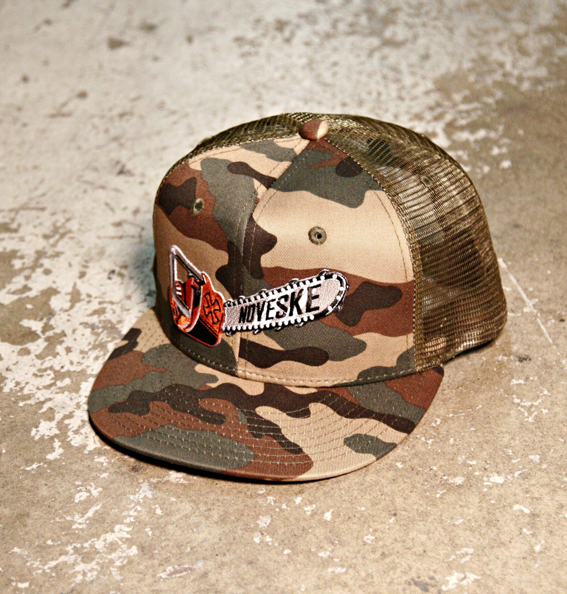 a2f3fc2d8dbb32 Noveske Chainsaw Camo Trucker Hat from NOVESKE   My Style in 2019 ...