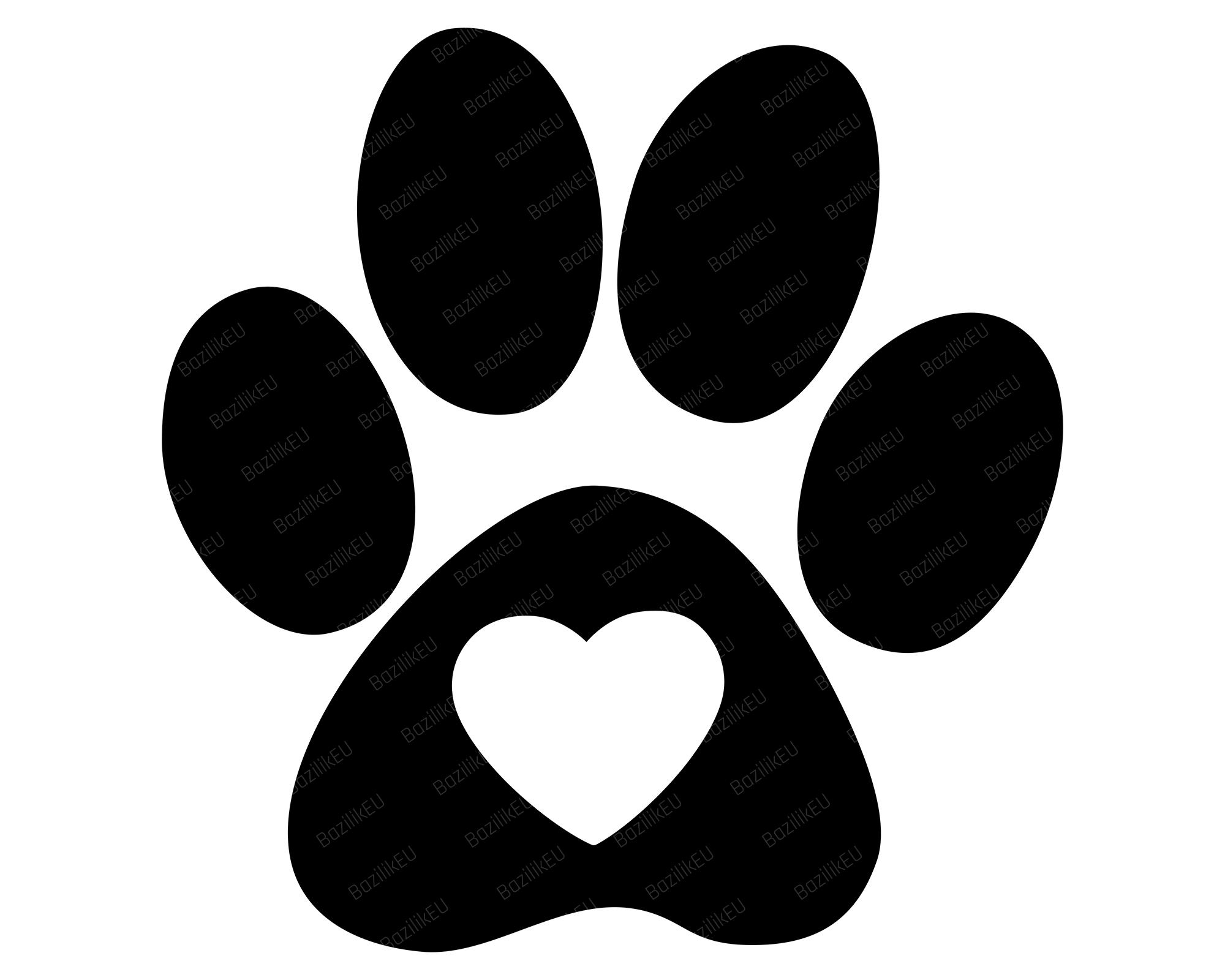 Heart Paw Print Svg Dog Paws Pet Paw Print Svg Dog Love Etsy In 2021 Pet Paw Print Cat Paw Print Paw Illustration