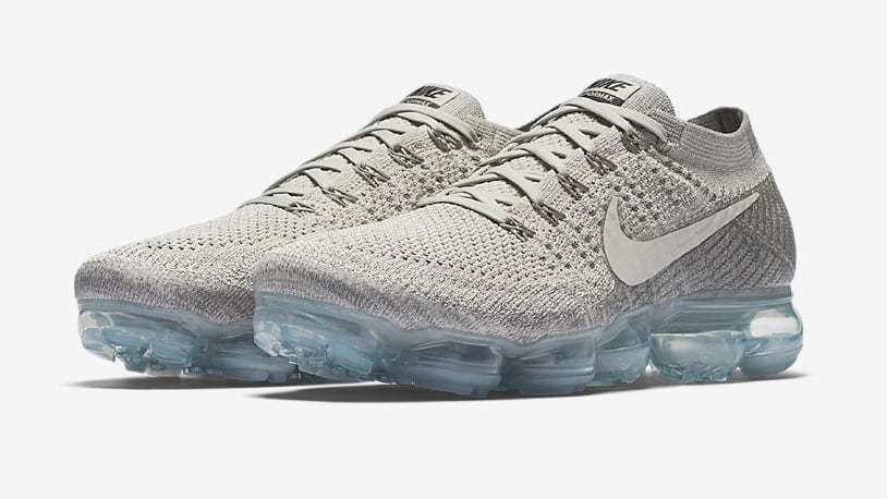 64dc1f46b0a1d NIKE AIR VAPORMAX Flyknit  Pale Grey  849558-005 Nikelab NEW Mens Size 10.5  12.5  Nike  AthleticSneakers