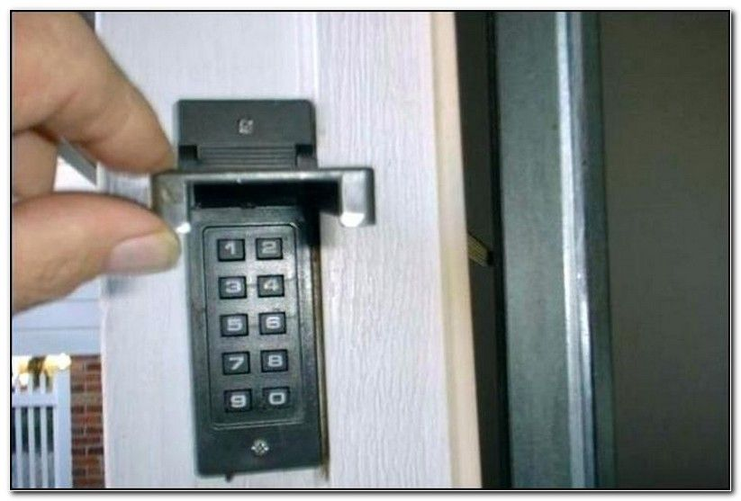 Sears Garage Door Opener Remote Keypad Programming Garage Door Opener Keypad Garage Door Opener Remote Garage Remote