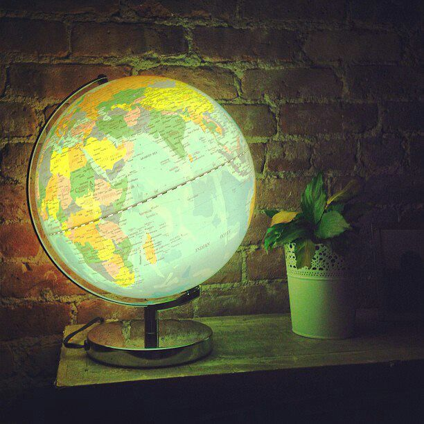 Globe lamp totally want for evelyns room home pinterest globe lamp totally want for evelyns room gumiabroncs Gallery