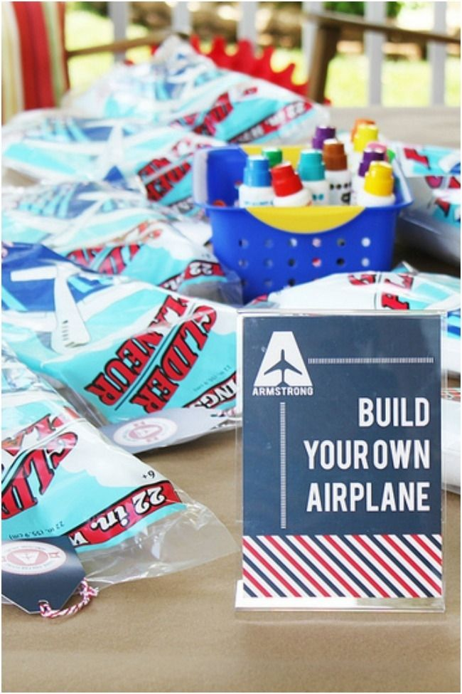 Airplane Birthday Party Favor Ideas Airplane Birthday Party
