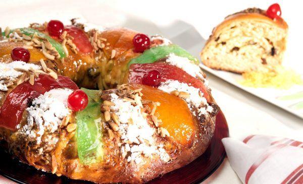 Bolo Rei. El Roscón portugués para el día de Reyes