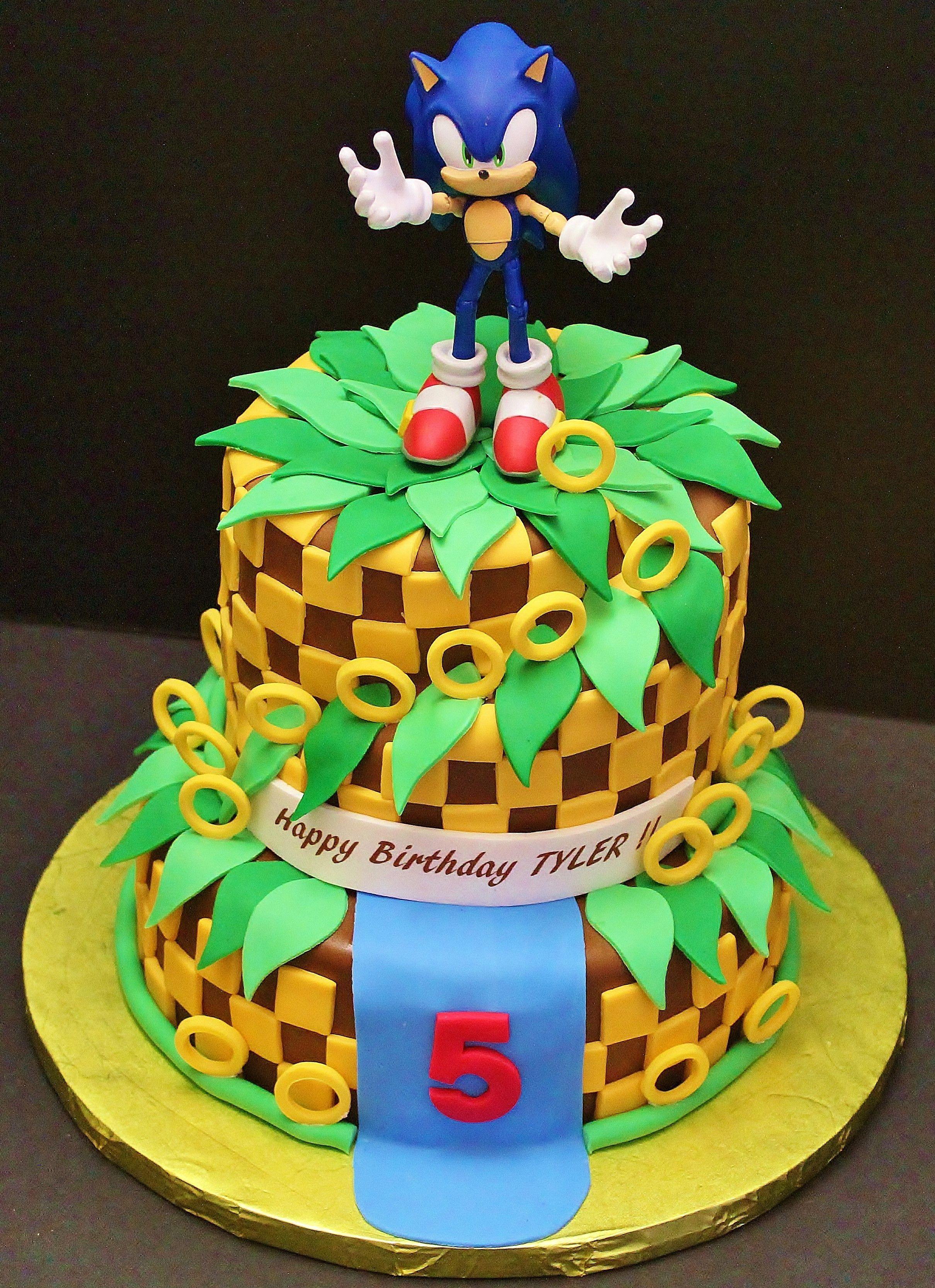 Sonic birthday cakes by cecy huezo www